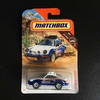 🚚 Matchbox '85 Porsche 911 rally