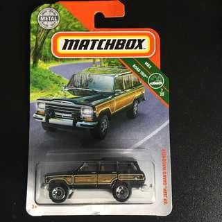🚚 Matchbox '89 jeep grand wagoneer