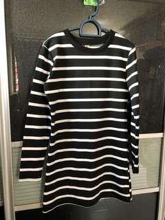 🚚 Long Sleeve Stripe Dress