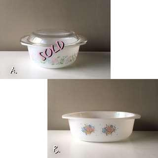 French Vintage Casseroles