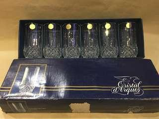 Gelas Kristal Merk Cristal d'Arques France