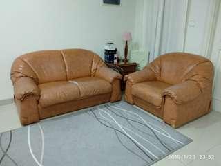 Sofa set 2seater+1seater