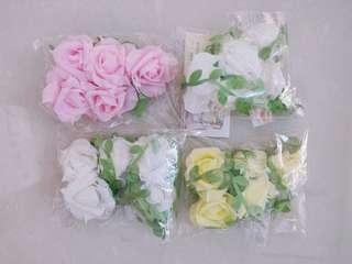 Flower party garland. Flower wedding prop.