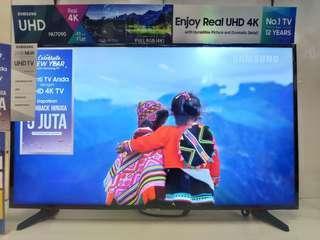 Samsung Smart TV LED 43 Inch 4K UHD Bisa Cicilan