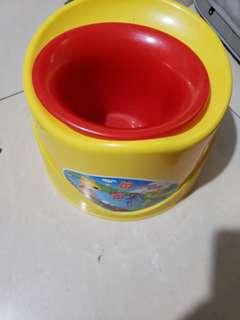 new potty train for toddler
