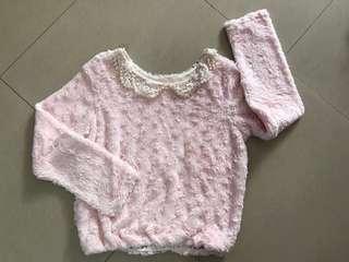 免費粉紅色毛毛上衣