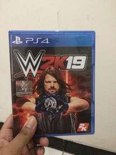 Kaset PS4 - WWE 2K19