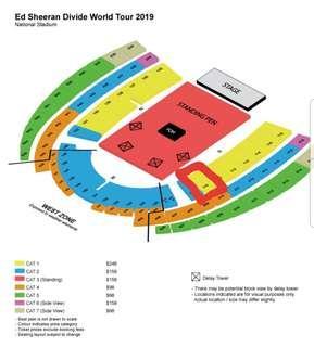 🚚 Ed sheeran divide world tour