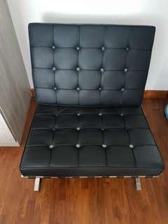 High quality leather seat