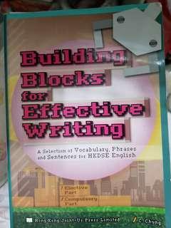 英文 building blocks and effective writing dse 5**