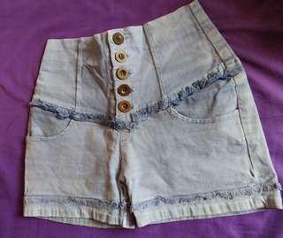 #BAPAU Hotpants baby blue