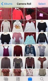 Bulk lot of clothes