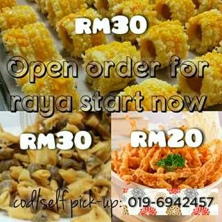 OPEN ORDER FOR RAYA