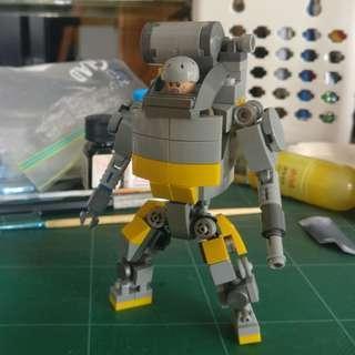Lego 機械戰鬥服,正版Lego 全新散件自砌, 連正版人仔一個