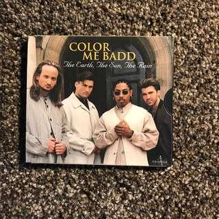 Color Me Badd The Earth, The Sun, The Rain cd