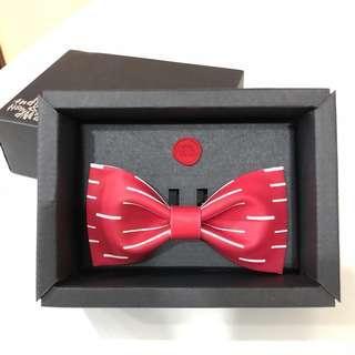 [幸福承傳] 新郎「囍」字煲呔 Bow Tie