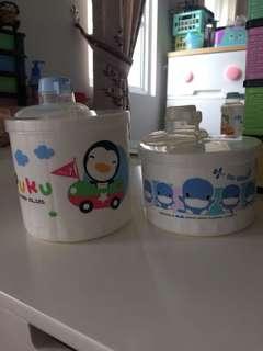 Milk Container / Milk Dispenser / Tempat Susu / Tempat Snack / Snack Container