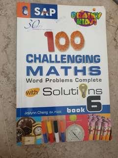 100 Challenging Maths Word Problems with complete solutions