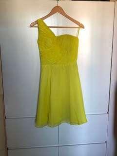 Carnation Yellow Dress