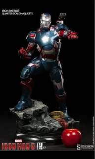 Sideshow Iron Patriot MSIB