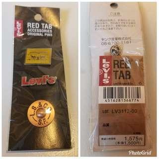 Levi's 扣針 (Japanese version)