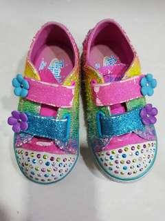 #Blessing: Skechers Twinkle Toes Light Up Toddler Girl Shoes