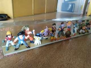 Dragonball set of figurines
