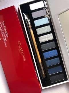 🚚 Clarins the essentials eye makeup palette eyeshadow