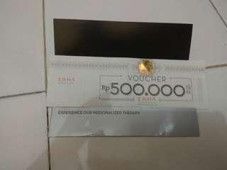 Voucher Erha senilai 500.000