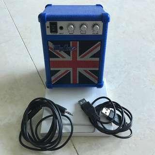 MyAmp portable USB MP3 speaker