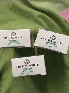 Crystal white skin soap