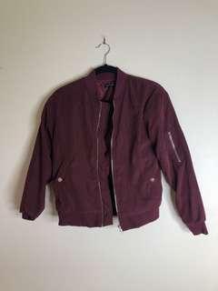 ROSEBULLET Berry Bomber Jacket