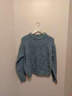 H&M grey knit sweater (BNWT)
