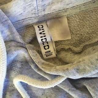 hoodie crop h&m
