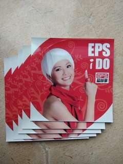 EPS 阿Sa宣傳膠貼5張