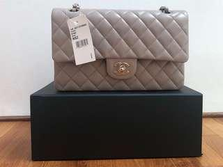 714e70471b1d Chanel Medium Flap in Caviar 14B Beige (Taupe) Brand New with Tag