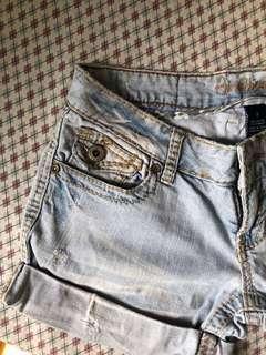 Amethyst Maong Shorts