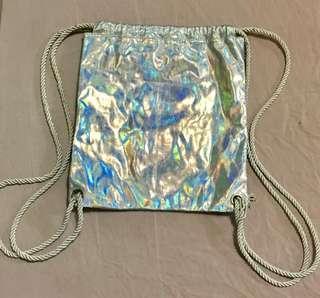 Hologram Drawstring Bag