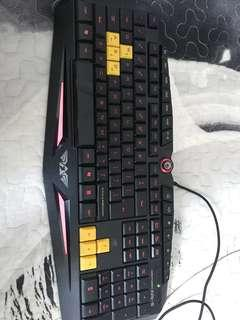 Armaggeddon gaming keyboard
