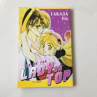 Komik to be a lady on top takada rie