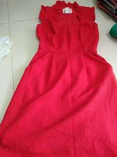 🚚 Tabitha red dress
