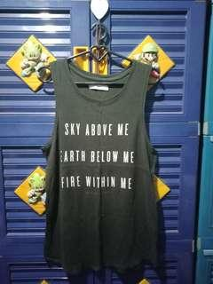 sleeveless tshirt