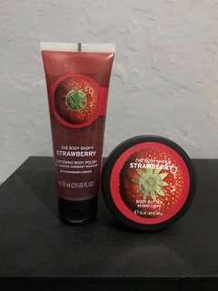 Set Body Polish&Body Butter (The Body Shop)