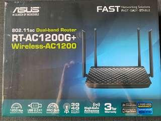 Asus dual band Wireless Router ASUS RT-AC1200G+