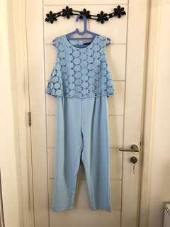 NYLA DRESS BABY BLUE