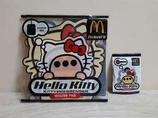 Milk Edition : Kitty@Messenger Mouse pad & Key Jacket