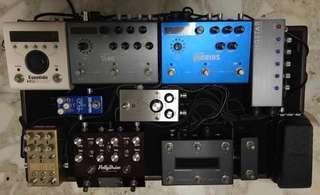 Pedalboard Stuff and Pedal for Sales