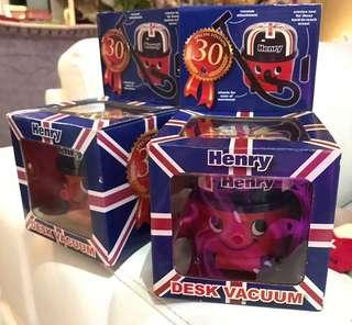 英國購入 小孩禮物 Henry枱面吸塵機desk vacuum