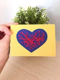 🚚 Valentine's Day / Friendship Day card
