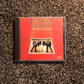 Spandau Ballet The Single Collection cd